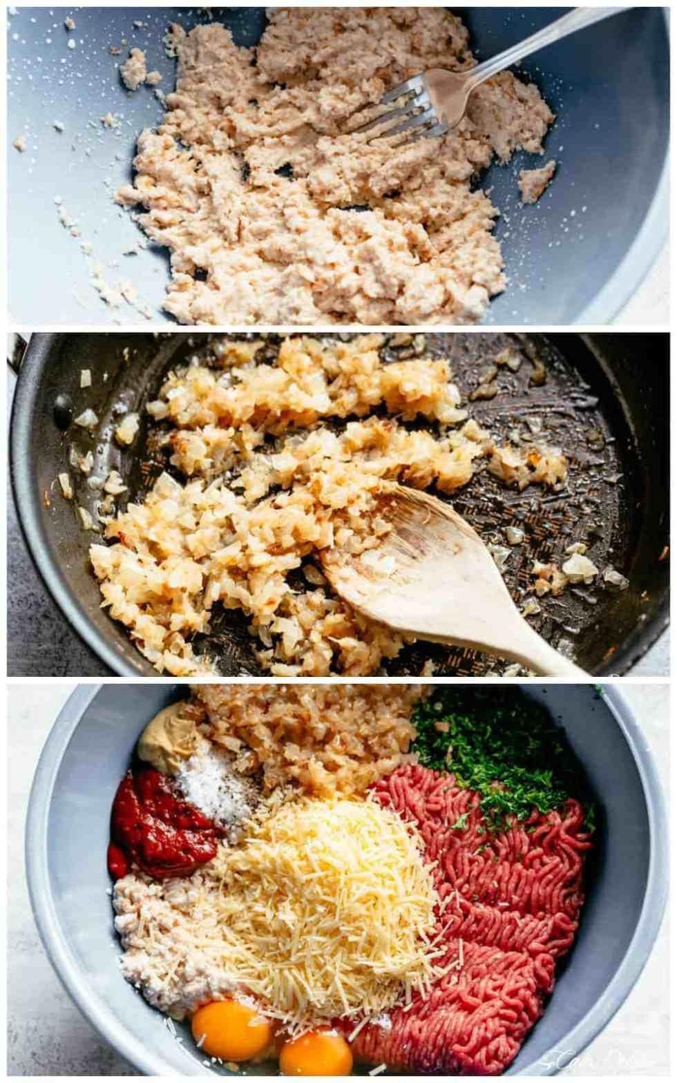 How to make easy Meatloaf | cafedelites.com