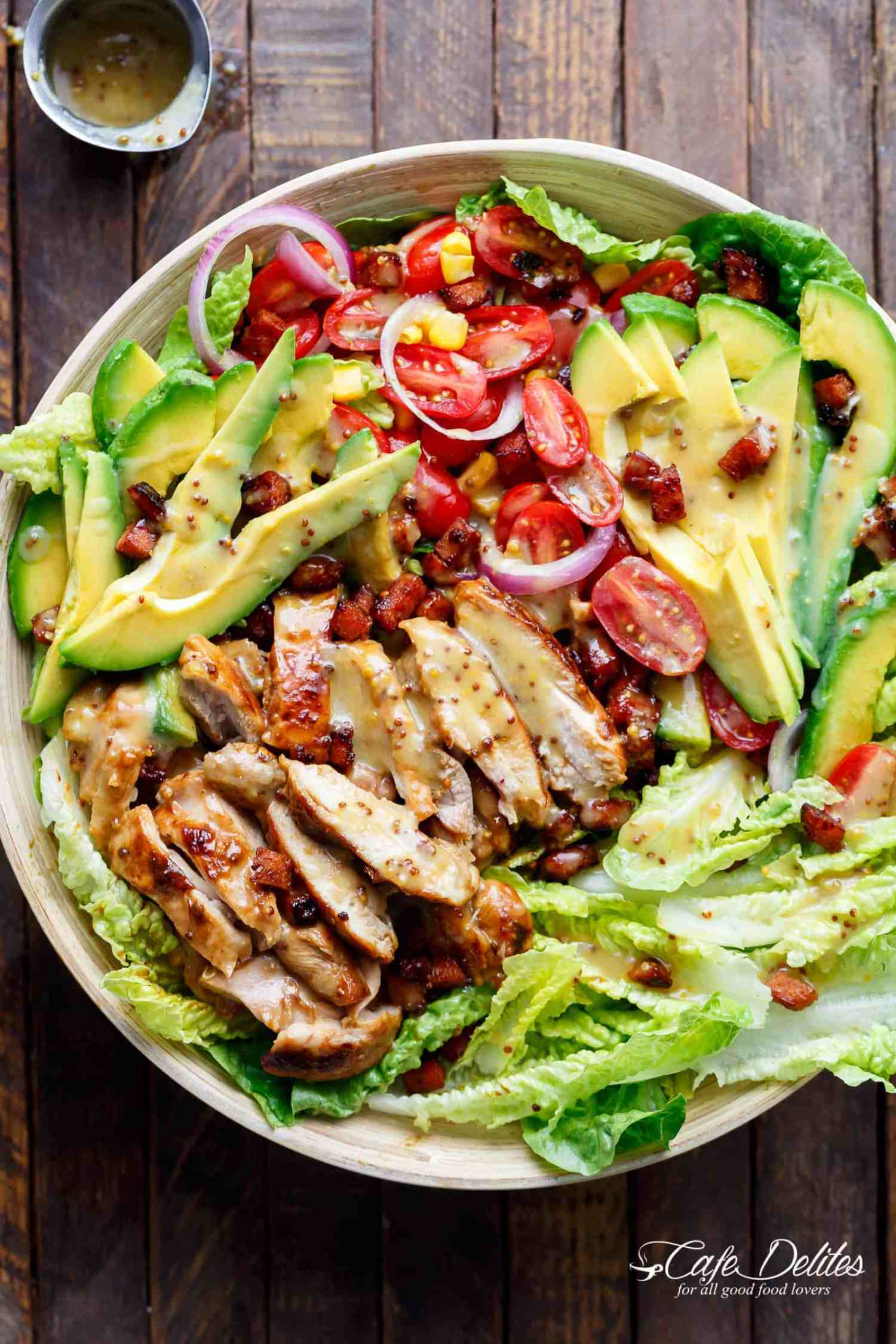 Chicken Salad with Avocado & Bacon