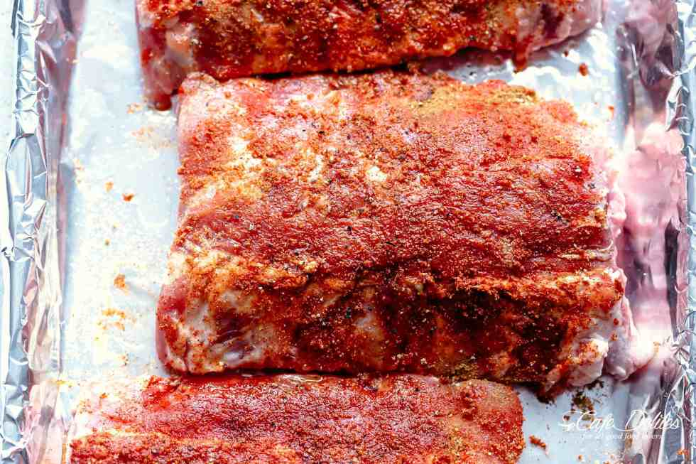 Oven Barbecue Ribs | cafedelites.com