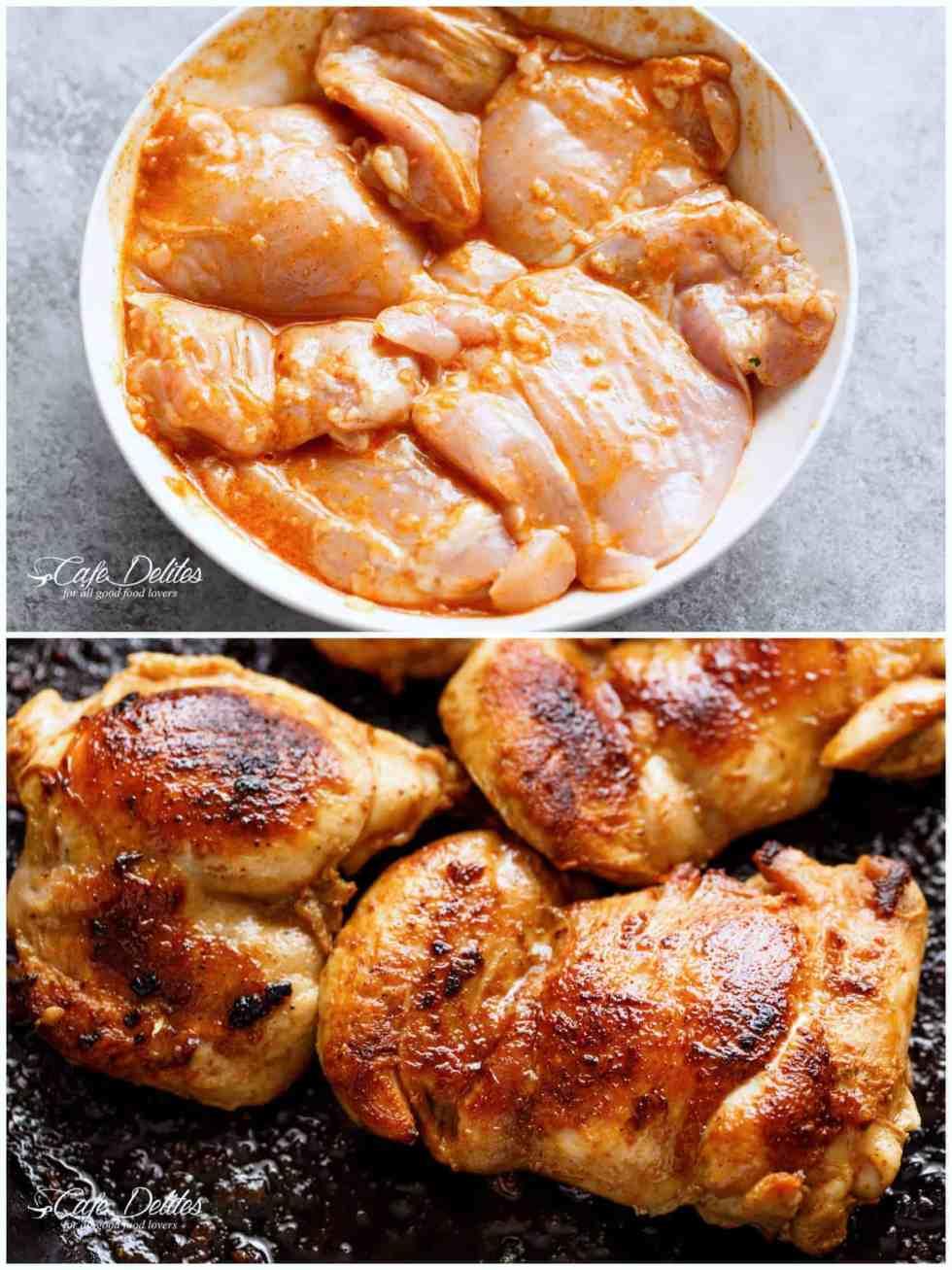 Chicken Seasoning for Burrito Bowl | cafedelites.com
