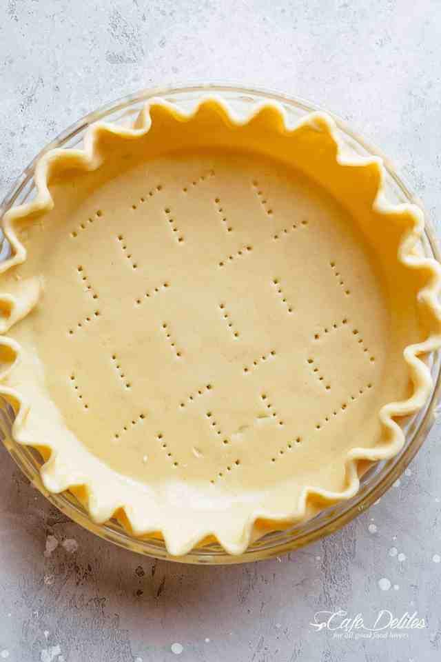 Buttery Pie Crust (No Shortening)