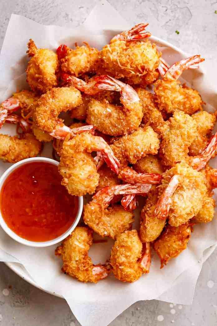 Coconut Shrimp | cafedelites.com