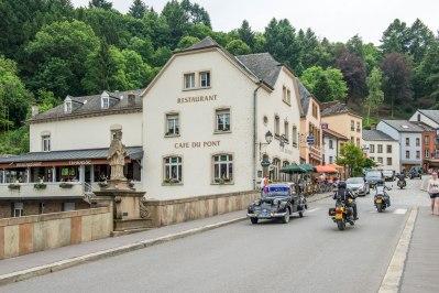 Illustration: photo of the good life taken from the bridge in Vianden.