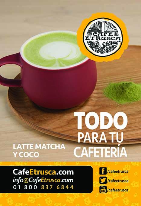 Latte Matcha y Coco