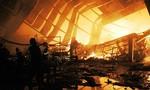 Đồng Nai: Cháy lớn trong khu công nghiệp Loteco