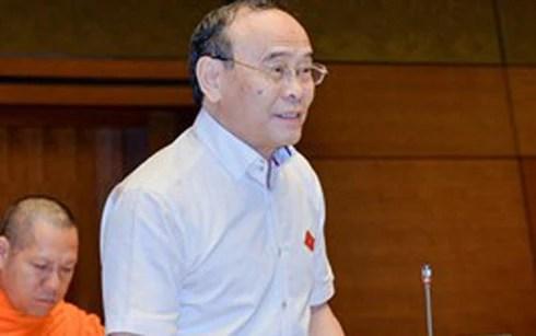 Đại biểu Quốc hội đoàn TP Cần Thơ - Nguyễn Văn Quyền