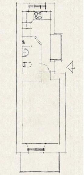 Mô hình bố trí toàn bộ không gian trong nhà.