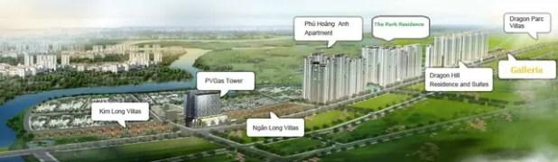 Dragon City được Sovico Holdings hợp tác cùng nhiều nhà đầu tư thứ cấp cùng phát triển.