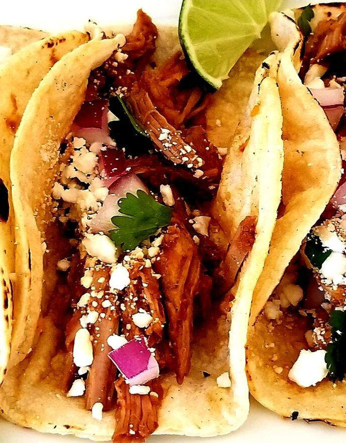 Slow-Cooker Tacos Al Pastor