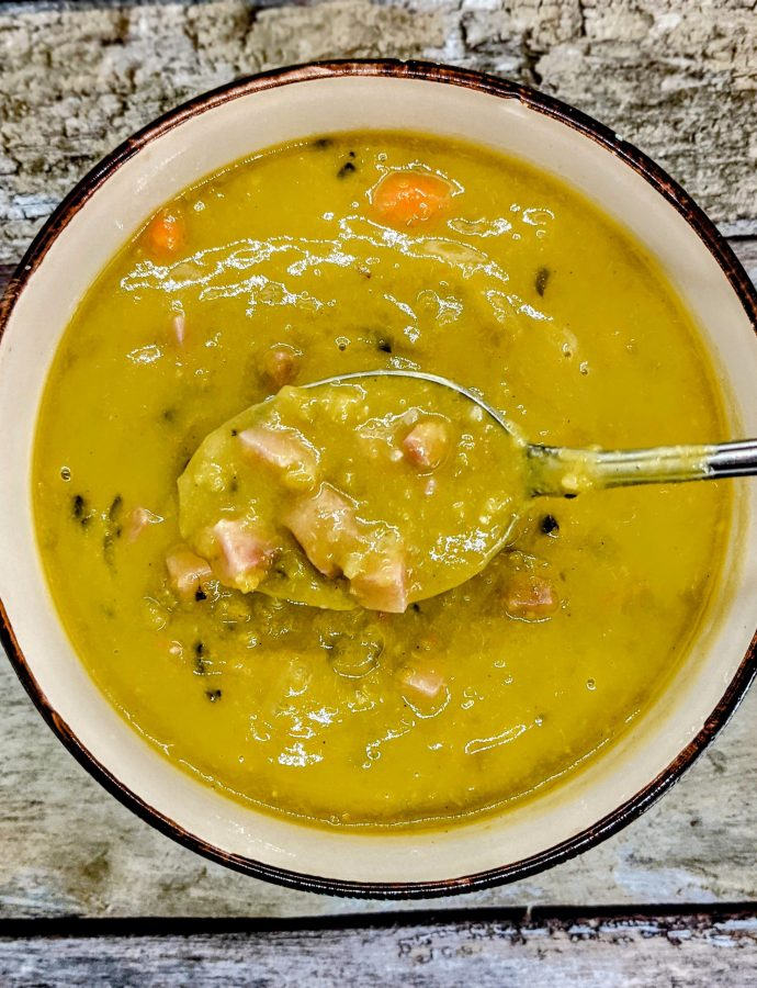Slow-Cooker Split Pea & Ham Soup