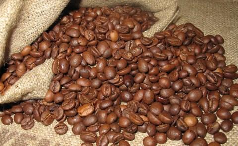 Few pounds of Arabica coffee