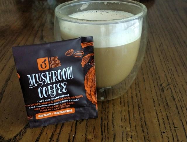 mushroom coffee instant pocket