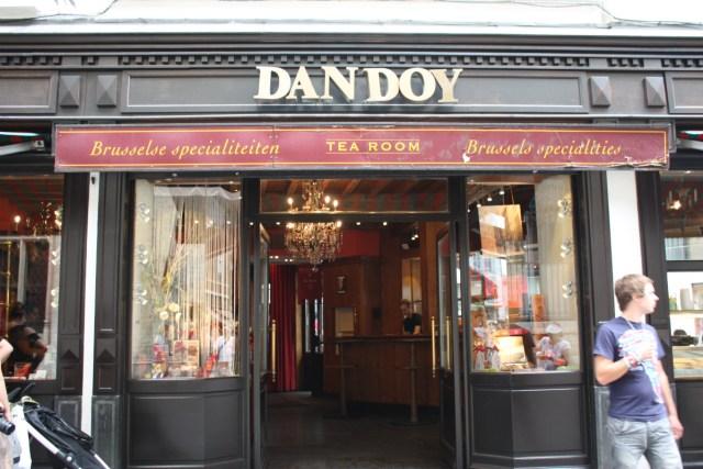 coffee shop Maison Dandoy - Tea Room