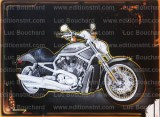 toile-graffiti-art-peintre-hip hop-moto-harley davison