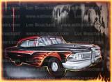 toile-graffiti-art-peintre-hip hop-voitures-ford-edzel