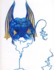 demon bande dessine art de la rue