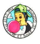 gomme baloune ado graffiti bande dessinee