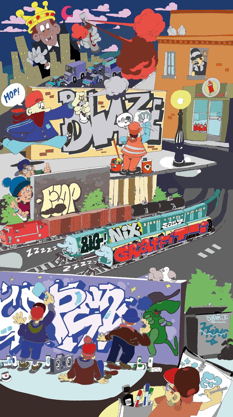 lexique graffiti définition hip-hop