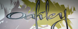 image realisation murale graffiti oakley graff