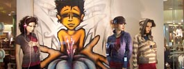 image realisation hiphop toiles graffiti maion simon