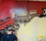 hiphop graffiti pool1