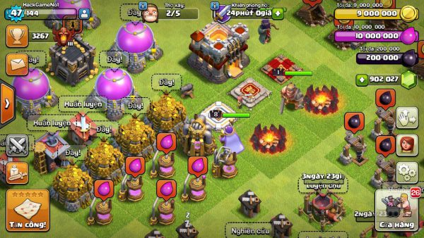DOWNLOAD game Clash of Clans mod Apk (CoC) miễn phí cho Android