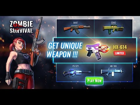 Tải Zombie Survival mod APK full tiền & kim cương