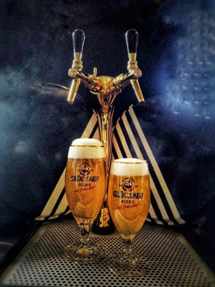 Bier vom Fass im Kune