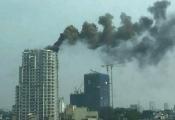 Cháy chung cư cao cấp ở Hà Nội