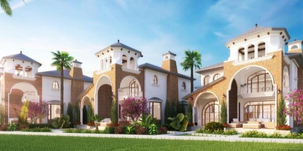 Phối cảnh biệt thự đơn lập và biệt thự song lập tại dự án Edenia Resort
