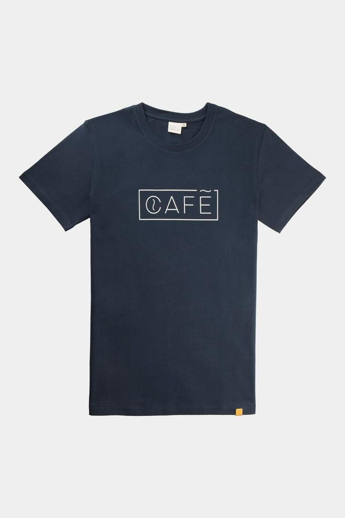 Organic cotton t-shirt CAFÉ logo