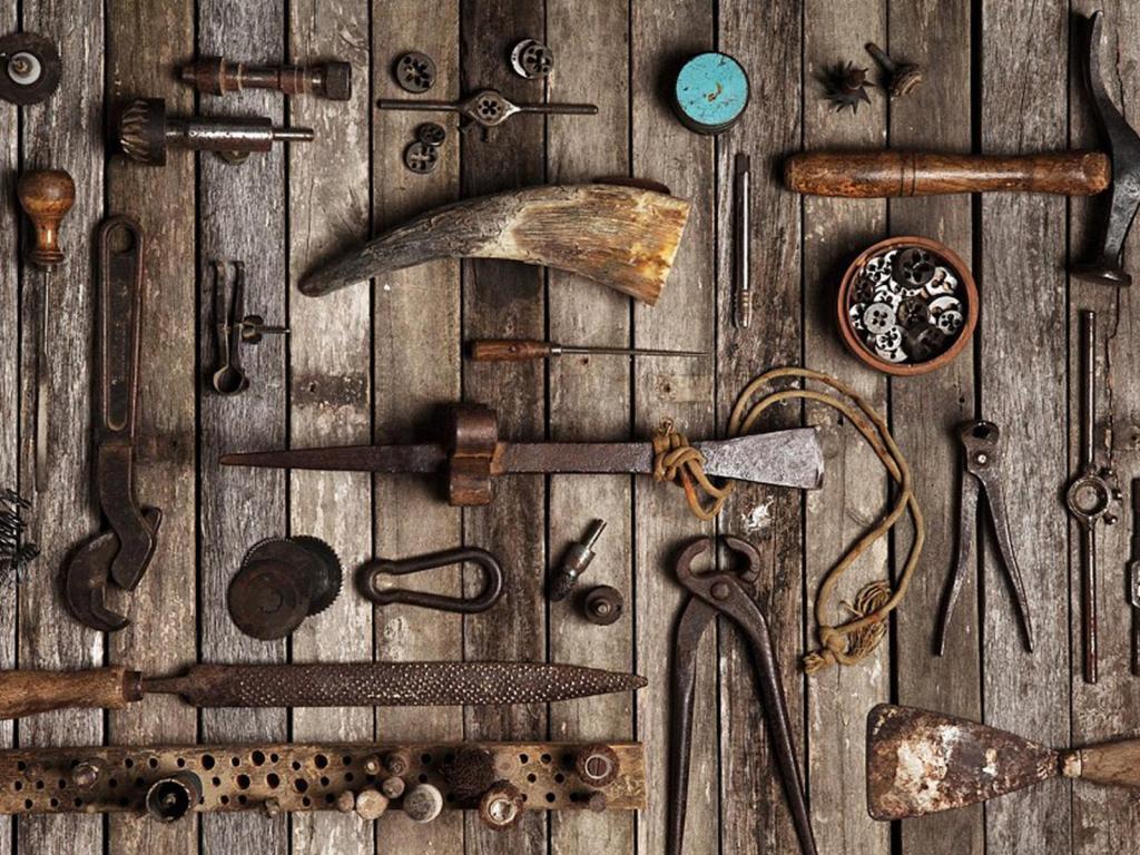 Ubrique leather tools