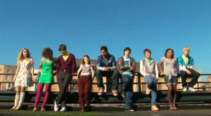 Cassie, Michelle, Tony, Sketch, Anwar, Sid, Chris, Jal y Maxxie