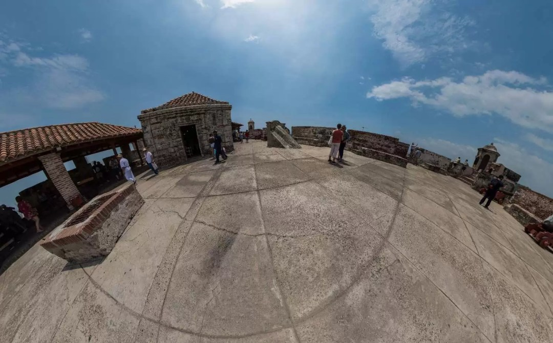 Castillo San Felipe, Cartagena de Indias