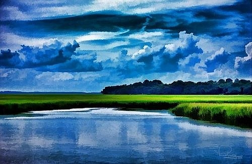 13-Evening-on-the-Marsh-LudwigKeck