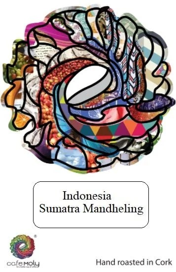 Single White Indonesia-Cafe Moly - Label