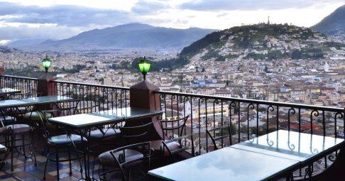cafe Mosaico balcony
