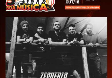 Banda Zepherin Rock agita a 5ª da Boa Música desta semana