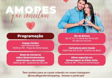 Via Café Garden Shopping lança campanha de namorados