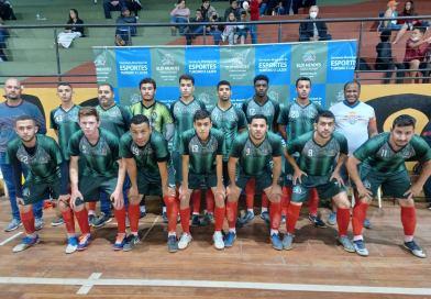 Equipe de futsal masculina adulto de Elói Mendes fez sua estreia na Copa Alterosa de Futsal 2021