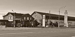 Фасад здания кафе Принцесса, Луховицы, трасса М5 Урал, 136 км, урочище Карцево