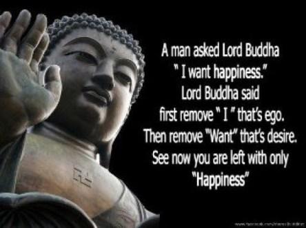 Buddha on Happiness