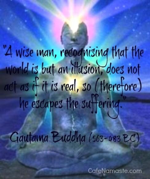 Buddha on illusion
