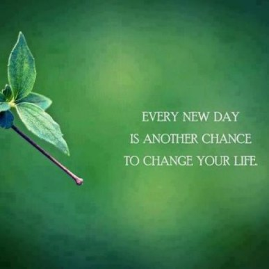 Every day new chance