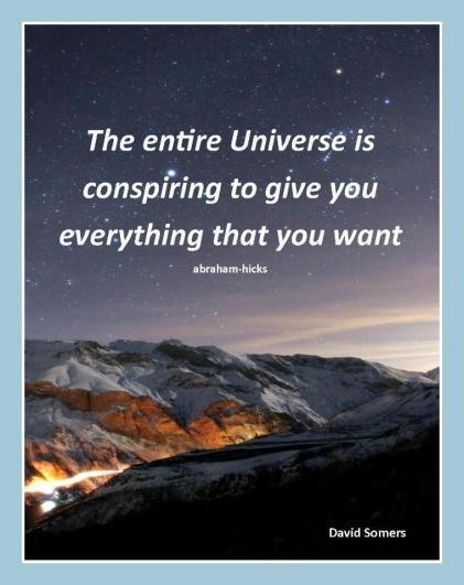 Universe is conspiring