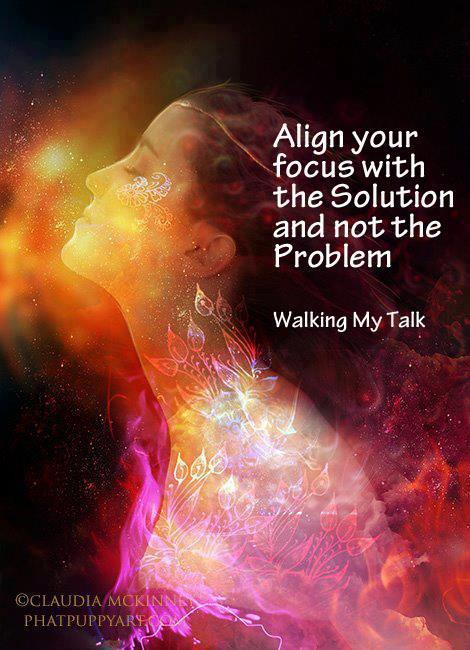 aligning with the solution