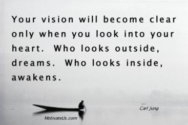 looking inside to awaken