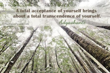 total acceptance of self