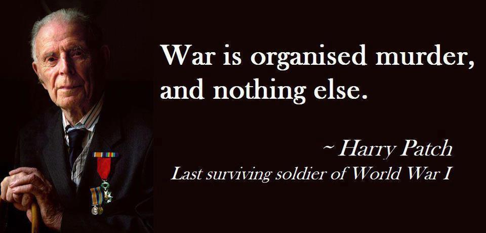 war is murder