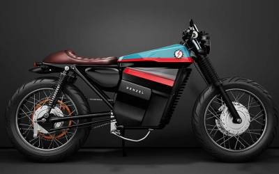 ECR V1. Cafe Racer eléctrica by Denzel
